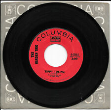 the HARDEN TRIO don't remind me / tippy toeing 4-43463 COLUMBIA   45