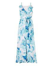 Maxi Vestido Estampado Joanna Hope Blues UK 16 RRP £ 59.00 RE078 BB 03