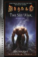 Diablo: The Sin War Book One: Birthright by Richard A. Knaak 9781945683473