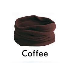 3 in 1 SNOOD Fleece Scarf Hood Balaclava Neck Winter Warmer Face Mask Beanie Hat