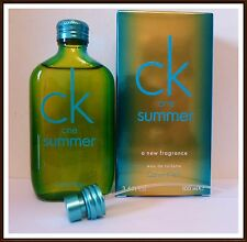 Calvin KLEIN CK ONE SUMMER 2014 100 ML EDT SPRAY NUOVO & ORIGINALE