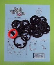 Jersey Jack Pinball The Wizard of Oz pinball rubber ring kit