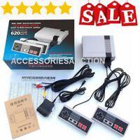Mini Retro Game For Nintendo NES Console 620 Classic Games RCA/HDMI+2 Controller
