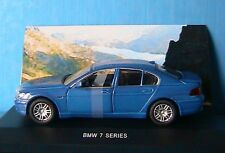 BMW SERIES 7 740i BLEU EDISON EG 1/43 SERIE ORO GERMANY