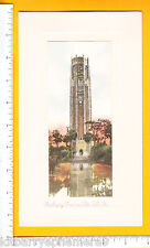 7285 Singing Tower c 1920 souvenir card, Lake Wales, Florida tourism
