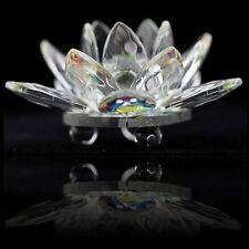 Kristall Lotus 5 cm Glücksbringer und Inspiration aus Feng Shui Kristal