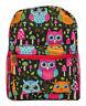 Girls Cute Owl Mini Toddler Backpack Bag For Preschool Kindergarten Kids Pink