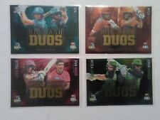 2018 TAP N PLAY BBL BIG BASH DUOS SINGLE CARDS