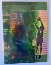 2000-01 Upper Deck Encore Performers Kobe Bryant #EP9