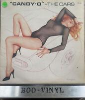 THE CARS VINYL LP - CANDY-O - ELEKTRA EKC 6080 1979 EX / VG+