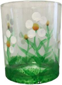 Giftware Trading Cristal Diseño Margarita Té Portavelas - Pascua Decoración