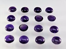 Amethyst 100% Natural 14mm Round Cabochon Shape AA Quality Loose Gemstone