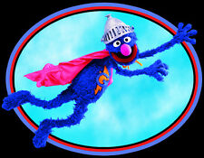 Sesame Street Classic Character Super Grover custom tee Any Size Any Color