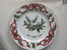Noble Excellence 12 Days of Christmas Salad Plate -2 Turtle Doves