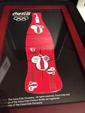 Coca Cola Olympic pin set - brand new coke 8 pin set presentation box London GB