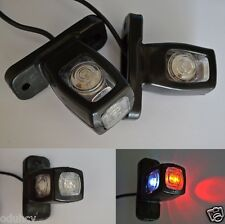 4x 12V/24V Side Marker LED Lights Chassis Trailer Truck for SCANIA DAF MAN VOLVO
