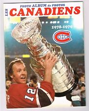 1978/79 Montreal Canadiens NHL Hockey YB YEARBOOK
