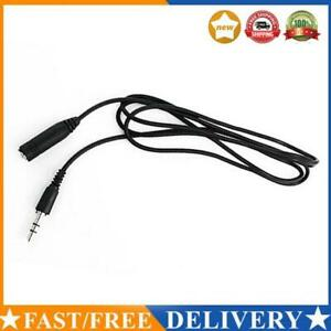 1.4M 3.5mm M/F Stereo Audio Earphones Headphones Earbud Extension Cable Cord Ada