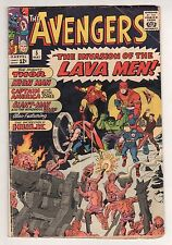 The Avengers #5 (1963 Series) Stan Lee Jack Kirby May 1964 GD+