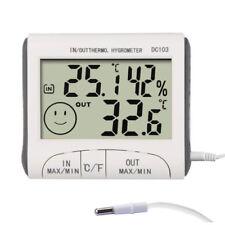 Stazione meteo Termometro Igrometro Digitale umidità temperatura interna esterna