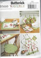 Patron de couture BUTTERICK ondulés tabliers Hot Patins serviettes table siège