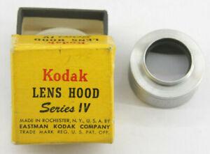 KODAK Series IV Threaded Metal Lens Hood Shade With Box  - USED D23F
