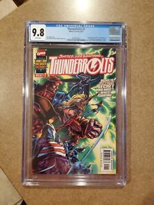 Thunderbolts #1 CGC 9.8 First Appearance Masters of Evil MCU DISNEY+ 🔥🔥🔥