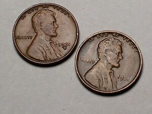 1931--P&D @    (Key) Old Lincoln Pennies **From old Rolls**