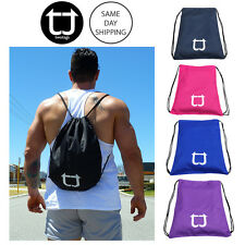 TWOTAGS Gym Drawstring Bag OUTDOOR FITNESS SPORTS TRAINING SACKPACK BACKPACK