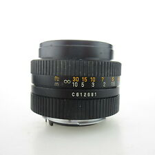 Für Pentax K Auto Revuenon MC 1:1.7 f=50mm Objektiv / lens