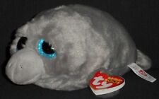 "TY BEANIE BOOS MILO the 6"" MANATEE - MINT with NEAR MINT TAG - SEE PICS"
