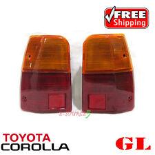 LH+RH Toyota Corolla WAGON 1300 GL E70 KE70 TE71 Rear Body Tail Lamp Lights Pair