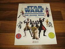 ULTIMATIVE STICKERBUCH:  STAR WARS the CLONE WARS // Angriff der Klonkrieger