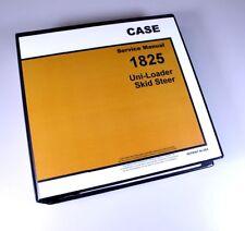 Case 1825 Uni Loader Skidsteer Service Repair Manual Technical Shop Book Rebuild