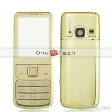 NOKIA 6700C 6700 Classic Full Gold Metal Housing Fascia Cover Case Replacement