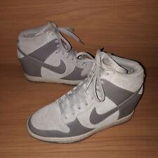 Nike Dunk Sky-Hi Hidden Heel Trainers 528899-005 Ladies UK 6 EU 40 US 8.5