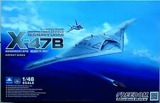 Freedom Model 1/48 US Navy X-47B Salty Dog UCAS Bomber UCAS-D