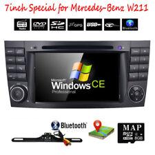 """Touchscreen 7"""" Stereo Car DVD Player GPS Headunit For Mercedes-benz E Class W211"""