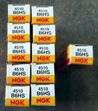 Lot 10 Bougie NGK B6HS (4510) + 1 GRATUITE Solex VeloSolex Mobylette
