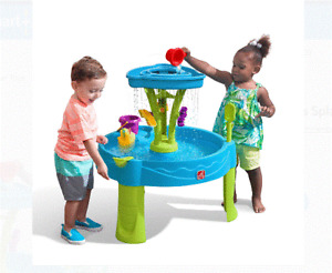 Step2 Summer Showers Splash Tower Water Table for Toddlers.