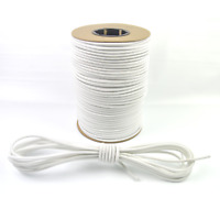 "75ft 1/4"" White Bungee Cord Marine Grade Heavy Duty Shock Rope Tie Down Stretch"
