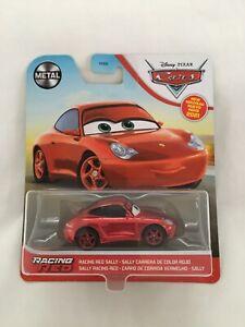 2021 Disney Pixar Cars Diecast Racing Red Sally Metal Series HTF Rare New In Box