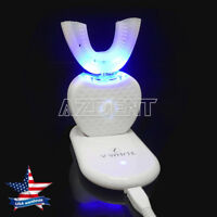 Automatic Electric Ultrasonic Toothbrush 360° Brush Whitening Toothbrush White