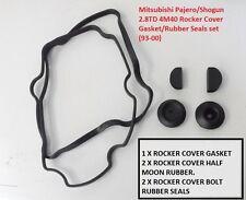 Rocker Cover Gasket & Rubber Seals Mitsubishi Pajero / Shogun 2.8TD 4M40 (1993+)