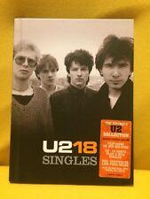 U2 18 SINGLES CD + DVD Doppio + Book Come Nuovo