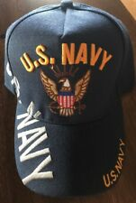 US U.S NAVY Blue Embroidered Military adjustable hat Baseball cap