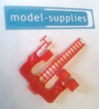 MATCHBOX riproduzione 62b COMMER Van TV PLASTICA ROSSA antenna TV// Scala Set