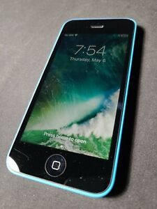 Apple iPhone 5c (A1532) 32GB - Blue (GSM Unlocked) Smartphone Clean IMEI EXCELLE