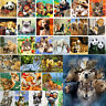 40*50CM DIY Paint By Number Kit Acrylic Oil Painting Wall Decor On Home Animal