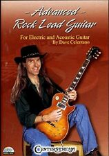 Advanced Rock Lead Guitar Dave Celentano Tuition DVD Learn How to Play